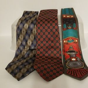 Bundle of 3 mens ties